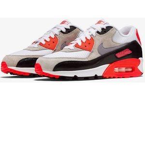 Nike Air Max 90 premium Mesh GS • INFRARED